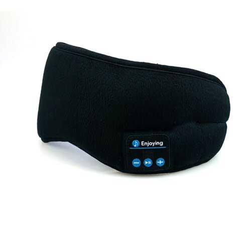 Masque de buit bluetooth noir