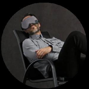 Faire une siestre avec le masque bluetooth