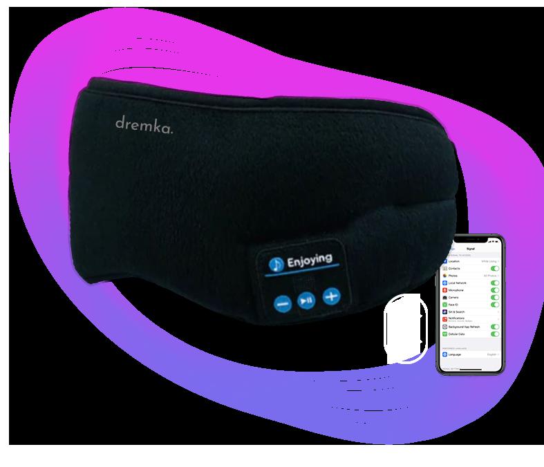 Masque de sommeil bluetooth avec qualité de son